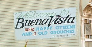 Welcome to Buena Vista